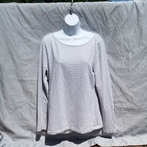J Crew Striped Artist T Long Sleeve t shirt XL
